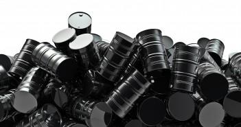 Oil drums pile