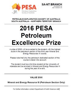 16 Pesa petroleum excellence prize