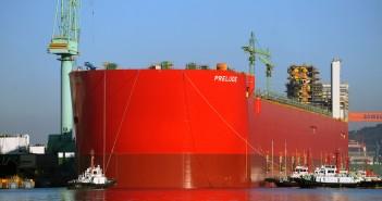 Shell Prelude FLNG facility