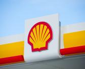 On board Fire Shuts-in Shell Platform
