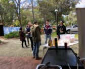 Semester BBQ event at Curtin University